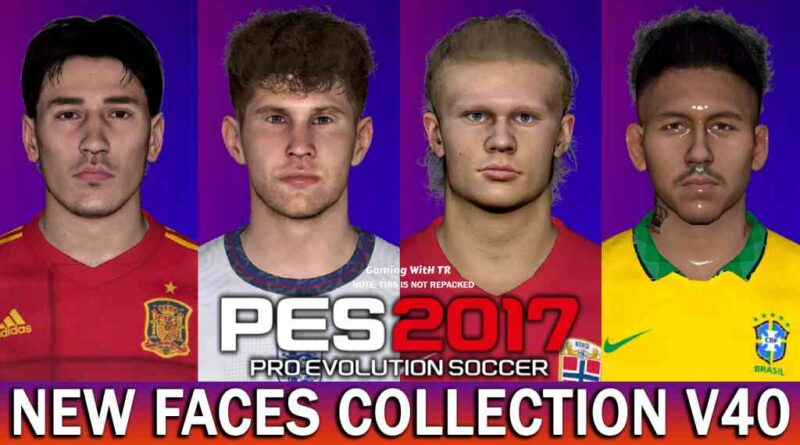 PES 2017 | NEW FACES COLLECTION V40 | FT. STONES | BELLERIN | FIRMINHO | HAALAND | DOWNLOAD & INSTALL