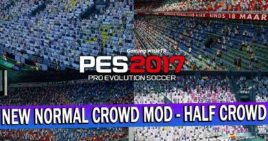 PES 2017 | NEW NORMAL COVID CROWD MOD - HALF CROWD | DOWNLOAD & INSTALL