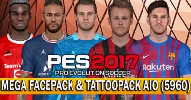 PES 2017 | THE LAST STANDALONE MEGA FACEPACK & TATTOOPACK AIO (5960) | PREVIEW & FULL INSTALLATION WITH VOICE