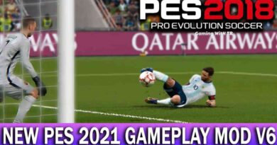 PES 2018 | NEW PES 2021 GAMEPLAY MOD V6 | DOWNLOAD & INSTALL