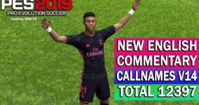 PES 2019   NEW ENGLISH COMMENTARY 2021 & PLAYERS CALLNAMES V14   DOWNLOAD & INSTALL