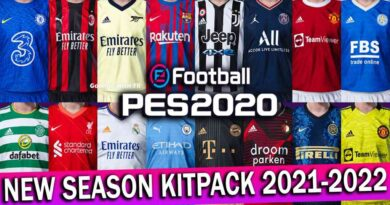 PES 2020   NEW SEASON KITPACK 2021-2022 FOR SMOKE PATCH   DOWNLOAD & INSTALL