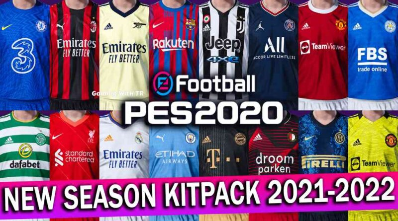 PES 2020 | NEW SEASON KITPACK 2021-2022 FOR SMOKE PATCH | DOWNLOAD & INSTALL