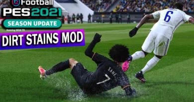 PES 2021 | DIRT STAINS MOD | DOWNLOAD & INSTALL