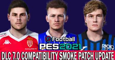 PES 2021 | DLC 7.0 COMPATIBILITY SMOKE PATCH 21.3.5 UPDATE | DOWNLOAD & INSTALL
