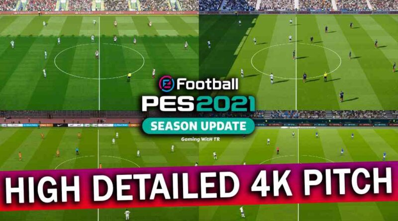 PES 2021 | LATEST REAL TURF V3 REDUX | HIGH DETAILED 4K PITCH | DOWNLOAD & INSTALL