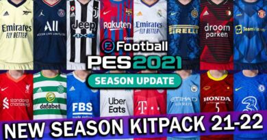 PES 2021 | NEW SEASON KITPACK 2021-2022 FOR SMOKE PATCH | DOWNLOAD & INSTALL