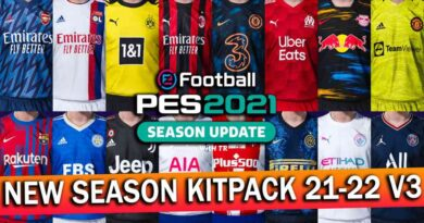 PES 2021   NEW SEASON KITPACK 21-22 V3 FOR SMOKE PATCH   DOWNLOAD & INSTALL