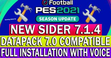 PES 2021 NEW SIDER 7.1.4 DATAPACK 7.0 COMPATIBLE FULL INSTALLATION WITH VOICE
