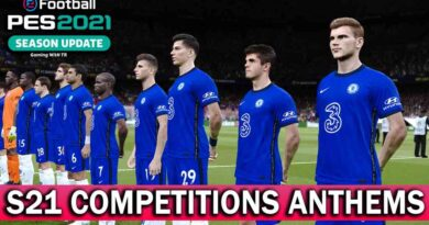 PES 2021 | S21 COMPETITIONS ANTHEMS | SOUND SERVER R2 | DOWNLOAD & INSTALL