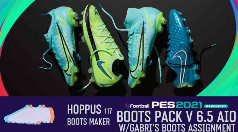 eFootball PES 2021 SEASON UPDATE BOOTS PACK V6.5 AIO BY Hoppus 117