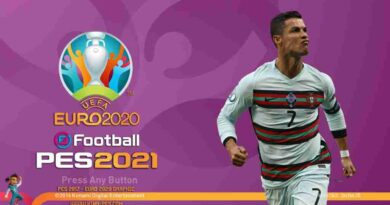 PES 2017 NEW EURO 2020 GRAPHIC MENU V2