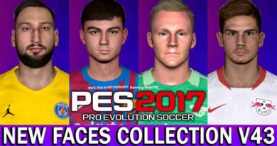 PES 2017 NEW FACES COLLECTION V43