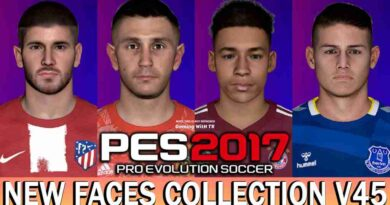 PES 2017 NEW FACES COLLECTION V45