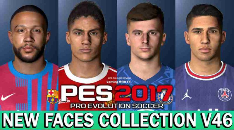 PES 2017 NEW FACES COLLECTION V46
