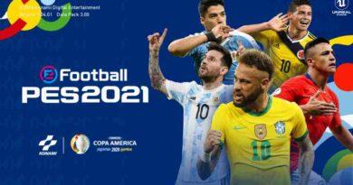 PES 2017 NEW GRAPHIC MENU COPA AMERICA EDITION