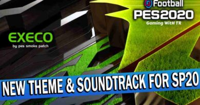 PES 2020 NEW THEME & SOUNDTRACK FOR SMOKE PATCH