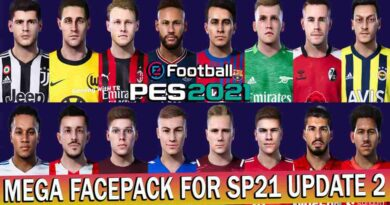 PES 2021 LATEST MEGA FACEPACK FOR SMOKE PATCH R2 UPDATE 2