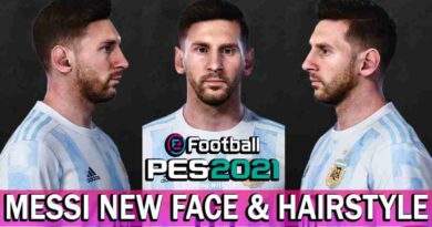PES 2021 LIONEL MESSI NEW FACE & HAIRSTYLE COPA AMERICA 2021 VERSION
