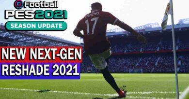 PES 2021 NEW NEXT-GEN RESHADE 2021