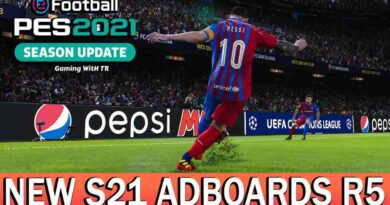 PES 2021 NEW S21 ADBOARDS R5