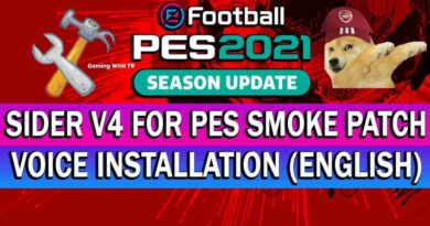 PES 2021 SIDER V4 FOR PES SMOKE PATCH