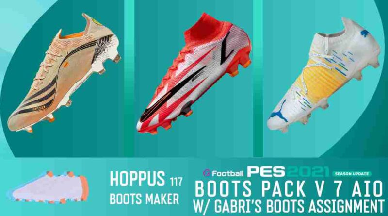 eFootball PES 2021 SEASON UPDATE BOOTS PACK V7 AIO BY Hoppus 117