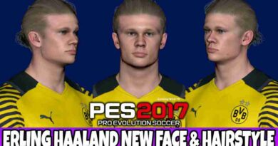 PES 2017 ERLING HAALAND NEW FACE & HAIRSTYLE