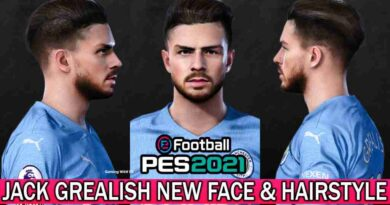 PES 2017 JACK GREALISH NEW FACE & HAIRSTYLE
