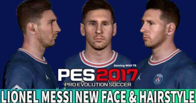 PES 2017 LIONEL MESSI NEW FACE & HAIRSTYLE