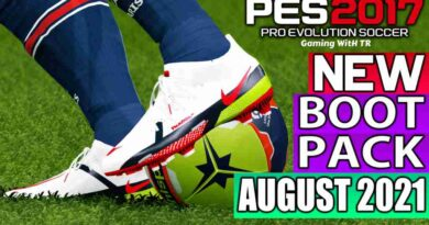 PES 2017 NEW BOOTPACK 2021 AUGUST UPDATE