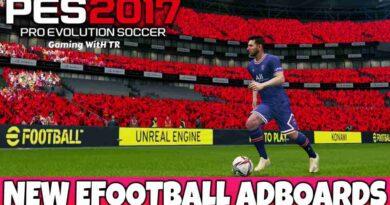 PES 2017 NEW EFOOTBALL ADBOARDS