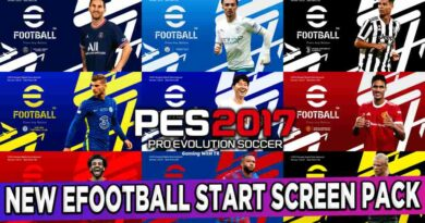 PES 2017 NEW EFOOTBALL START SCREEN PACK