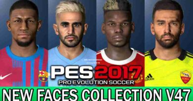 PES 2017 NEW FACES COLLECTION V47