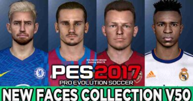 PES 2017 NEW FACES COLLECTION V50