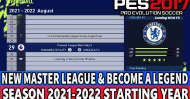PES 2017 NEW MASTER LEAGUE & BECOME A LEGEND SEASON 2021-2022 STARTING YEAR