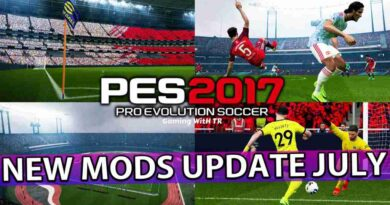 PES 2017 NEW MODS UPDATE JULY ALL IN ONE