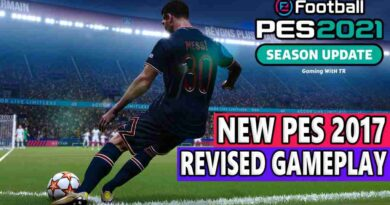 PES 2021 NEW PES 2017 REVISED GAMEPLAY MOD