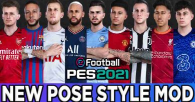 PES 2021 NEW POSE STYLE