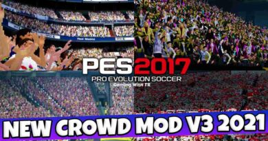 PES 2017 NEW CROWD MOD V3 2021