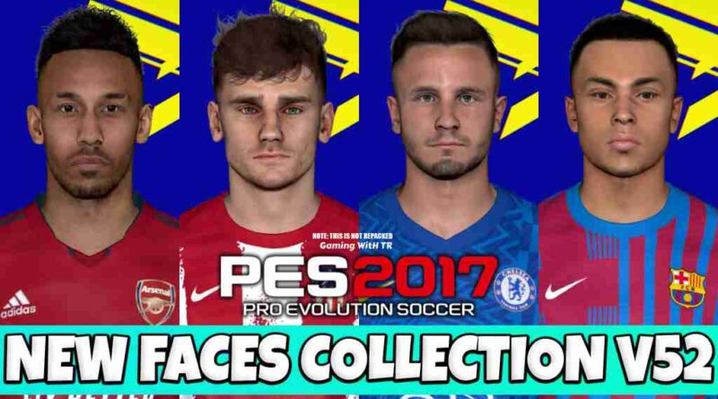 PES 2017 NEW FACES COLLECTION V52