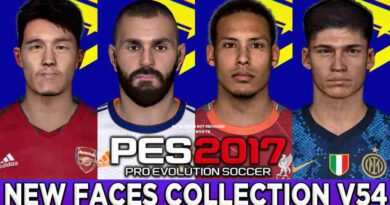 PES 2017 NEW FACES COLLECTION V54