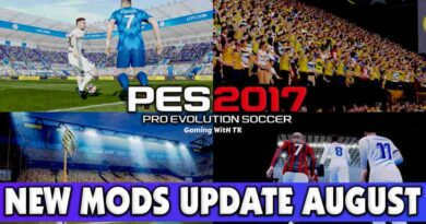PES 2017 NEW MODS UPDATE AUGUST ALL IN ONE