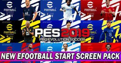 PES 2019 NEW EFOOTBALL START SCREEN PACK