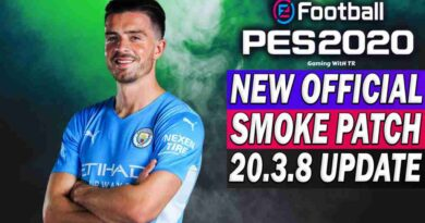 PES 2020 NEW OFFICIAL SMOKE PATCH 20.3.8 UPDATE