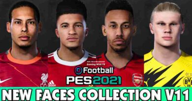 PES 2021 NEW FACES COLLECTION V11