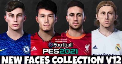 PES 2021 NEW FACES COLLECTION V12