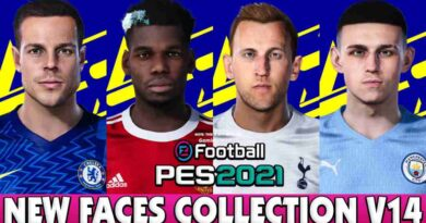 PES 2021 NEW FACES COLLECTION V14