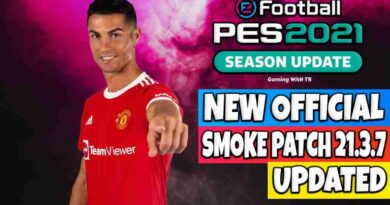 PES 2021 NEW OFFICIAL SMOKE PATCH 21.3.7 UPDATE 4000+ SUMMER TRANSFERS
