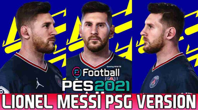 LIONEL MESSI NEW FACE & HAIRSTYLE PSG VERSION